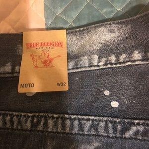 True religion Moto jeans size 32w